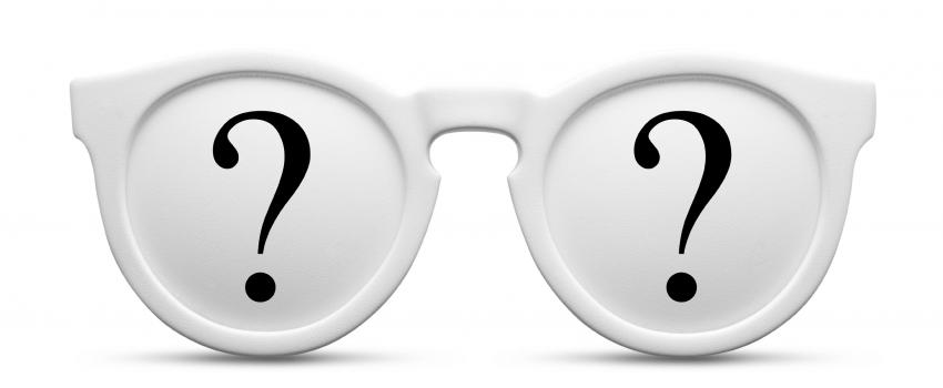 glasses with question marks vaw istock 000011509601 large